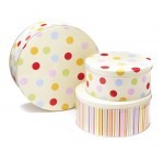 Cooksmart Spotted Cake Tins, Set of 3