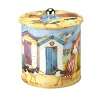 Emma Ball Beach Hut Biscuit Barrel