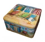 Emma Ball Deckchair Square Tin