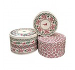 Emma Bridgewater Christmas-Themed Cake Tins, Set of 3