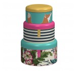 Joules Cake Tins, Set of 3, Multi-Colour
