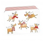 Kate Mawdsley Deep Rectangular Christmas Storage Tin