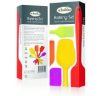 Schubba Premium Silicone Spatula Set of 5 Kitchen Utensils