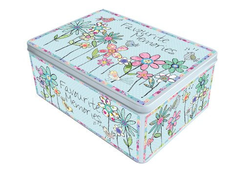 Extra Large 'Favourite Memories' Flower Tin