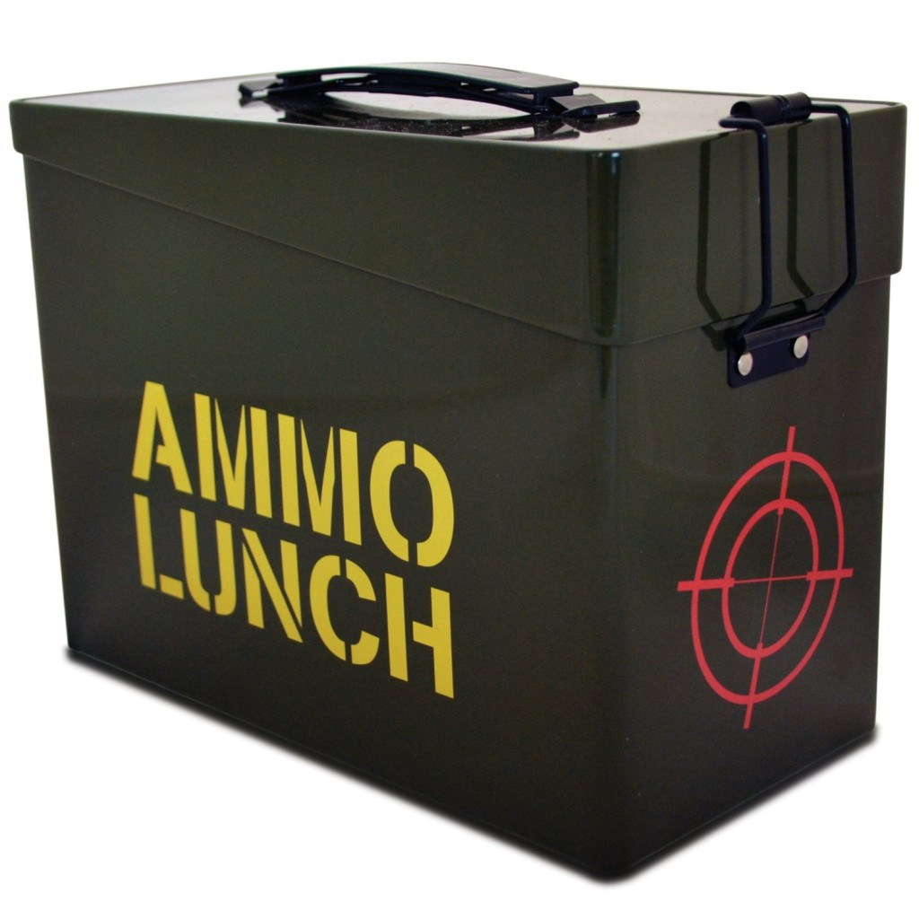 Fizz Creations 1-Piece Ammo Lunch Box, Green