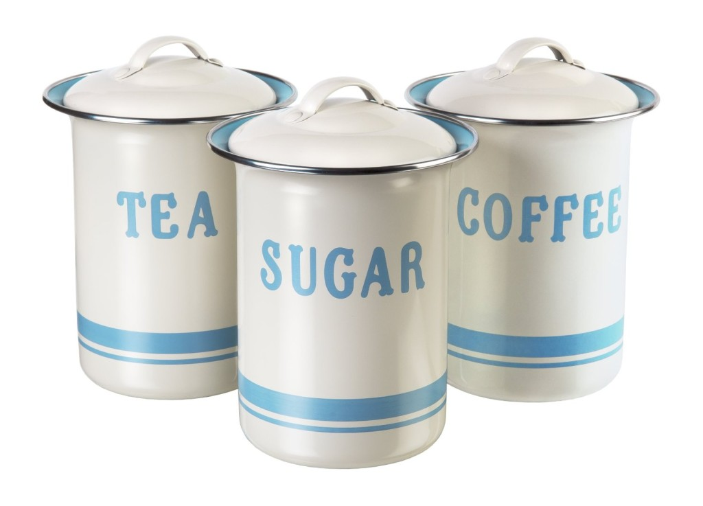 Jamie Oliver Coffee, Tea and Sugar Canister Set
