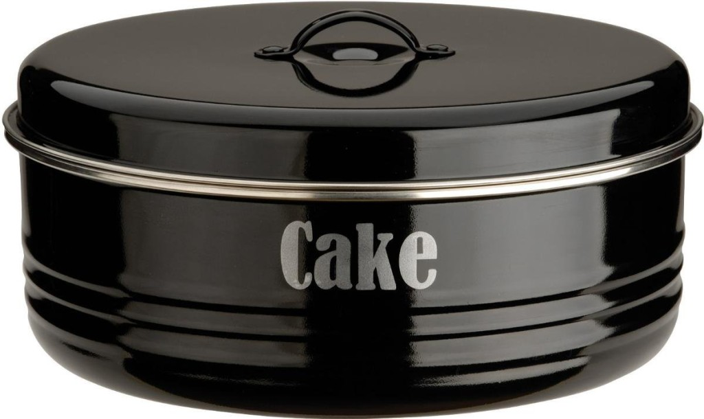 Typhoon Vintage Kitchen Black Cake Tin